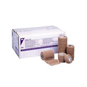 """Coban Non-Sterile Self-Adherent Wrap 4"""""""" x 6-1/2 yds., Tan 882084L"""