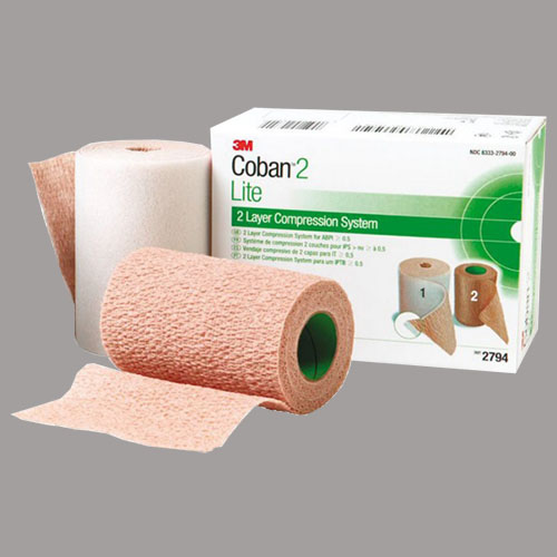 Coban Latex-Free 2-Layer Lite Compression System 882794N