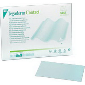 """Tegaderm Non-Adherent Contact Layer Dressing 3"""" x 4"""" 885642"""