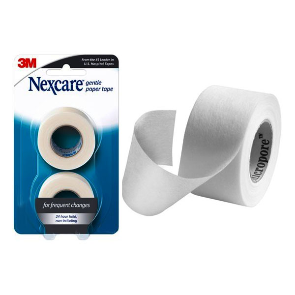 "Nexcare Gentle Paper First Aid Tape 2"""" x 10 yrds, Carded 88782"