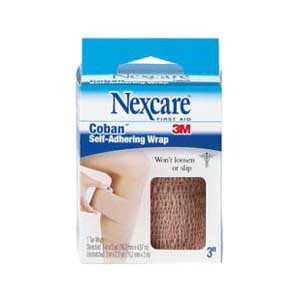 Nexcare Coban Athletic Wrap, Tan 88CR3T
