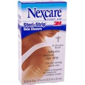 """Steri-Strip Skin Closure Strip 1/4"""""""" x 4"""""""" 88H1546"""