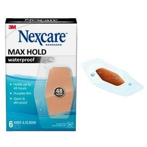 Nexcare Max Hold Knee and Elbow Bandage 6 ct 88MHW06