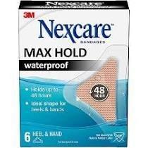 Nexcare Max Hold Heel 6 ct 88MHWH06