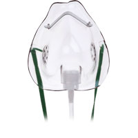 Oxygen Mask, Medium, Pediatric 921035