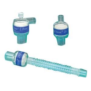Teleflex Humid-Vent® 2S Heat Moisture Exchanger 150 to 1500mL Tital Volume Range 29mL Dead Space, 19-4/5g Weight 9214412