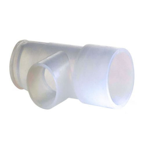 Teleflex Nebulizer Tee Connector/Sensor Tee Adapter, 22mm O.D. x 18mm I.D. x 22mm I.D. Connections Disposable Tee 921639