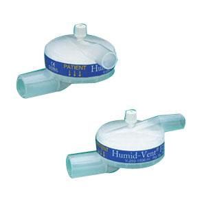 Teleflex Humid-Vent® Filter Light Straight Heat Moisture Exchanger 250 to 1500mL Tital Volume Range 60mL Dead Space, 30g Weight 9219932