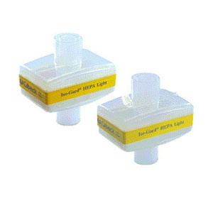 Teleflex Iso-Guard® HEPA Light Filter, 22mm I.D. x 22mm O.D. x 15mm I.D. Connector 9228022