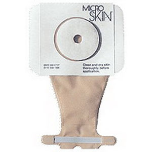 """One-Piece Pediatric Drainable Pouch with MicroDerm Plus™ 1-1/2"""" Stoma Opening 9378530"""