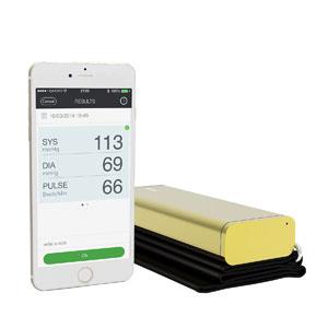 QardioArm Smart Blood Pressure Monitor for Apple iOS and Android Gold 94A100IGO