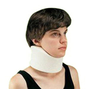 Core Products Foam Cervical Collar, Universal, Soft, Black, 2''  956259