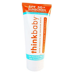 Thinkbaby™ Safe Sunscreen Lotion with SPF 50+ 6 oz. Family Pack 98LIVESUNBABY6