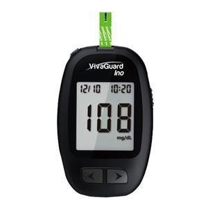 VivaGuard Ino Blood Glucose Meter, Black ABVGM01373