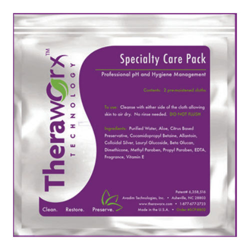 Theraworx Protect Specialty Care Wipes ABXSCP8802
