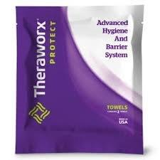 Theraworx Protect Specialty Care Wipes, Fragrance Free ABXSCP8802FF