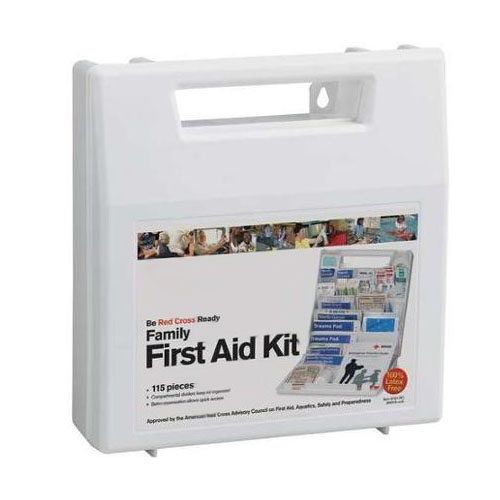 Red Cross Family First Aid Kit 115 pc ACE9161RC
