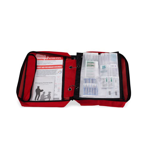 ACME United American Red Cross Deluxe Family First Aid Kit, 113 Pieces ACE9162RC