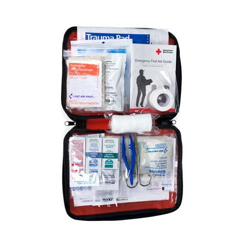 ACME United American Red Cross Be Red Cross Ready First Aid Kit, 73 Pieces ACE9165RC