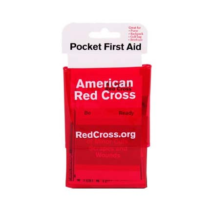 ACME United American Red Cross Mini Pocket First Aid Kit, 19 Pieces ACERC600