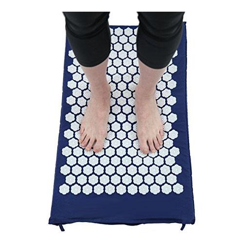 Kanjo Acupressure Memory Foam Foot Mat, Sapphire ACNKANSAPF