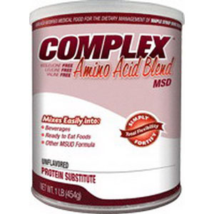 Applied Nutrition Corp Complex MSD Amino Acid Blend 454g Can, 1466 Calories, Unflavored  AD5900