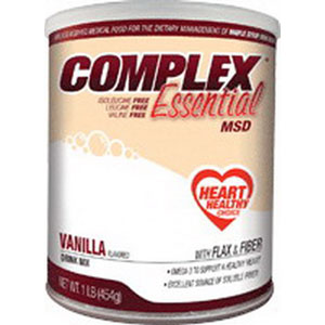 Applied Nutrition Corp Complex Essential MSD Drink Mix 454g Can, 1725 Calories, Vanilla Flavor AD5972