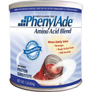 Applied Nutrition Corp PhenylAde® Amino Acid Blend 454g Can, 1466 Calories, Unflavored AD9500