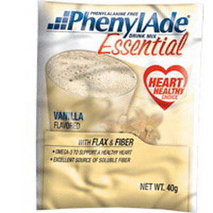 Applied Nutrition Corp PhenylAde® Essential Drink Mix 40g Pouch, 157 Calories, Vanilla Flavor AD95024