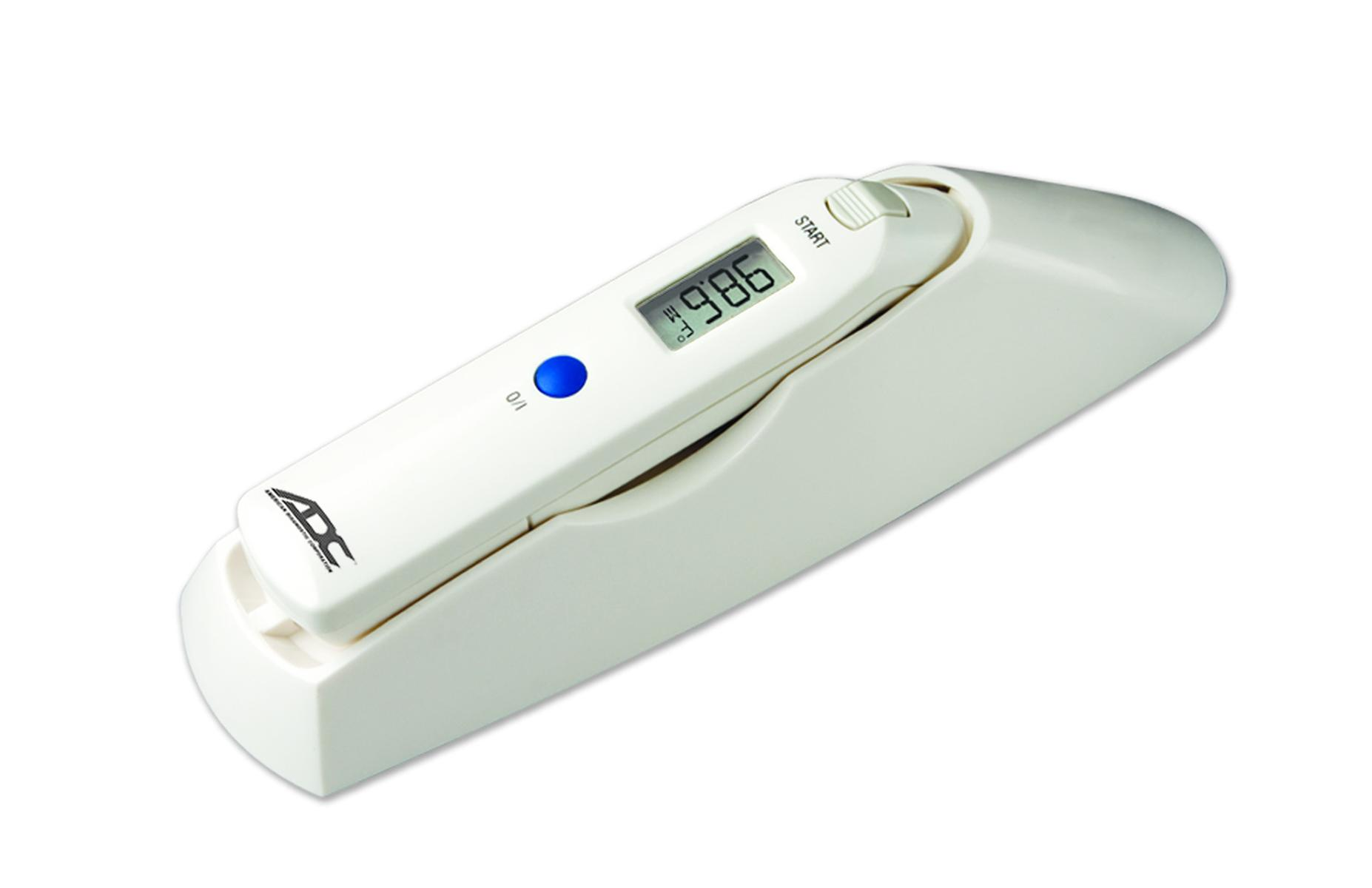 """American Diagnostic Adtemp™ Tympanic IR Ear Thermometer 5-1/2"""" x 1"""" x 4/5"""" Dual Scale, CR2032 Battery ADC424"""