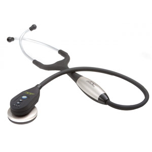 Adscope 603 2-HD Stethoscope, Black ADC603BK