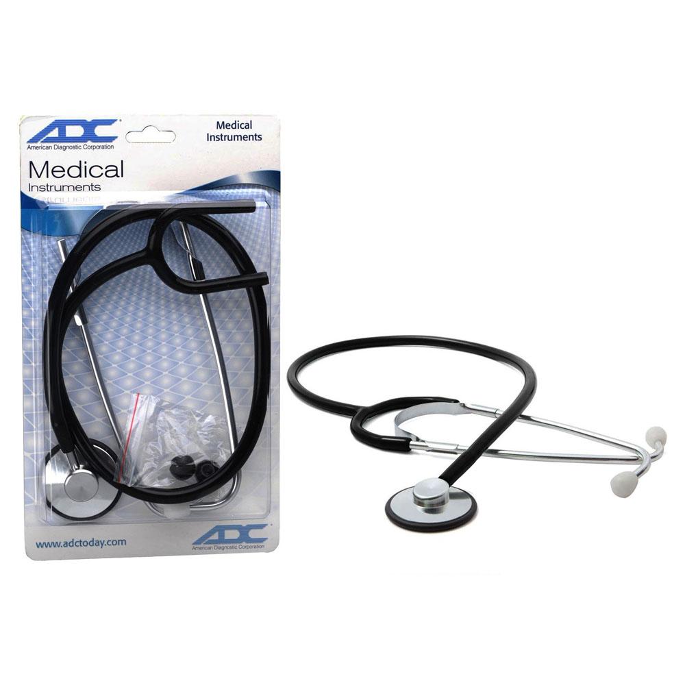 Proscope Single-Head Stethoscope, Black. ADC660BKQ
