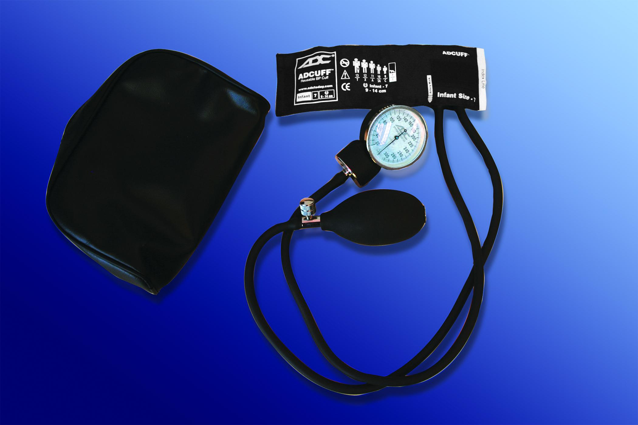 Prosphyg 760 Series Infant Aneroid Sphygmomanometer, Black ADC7607IBK