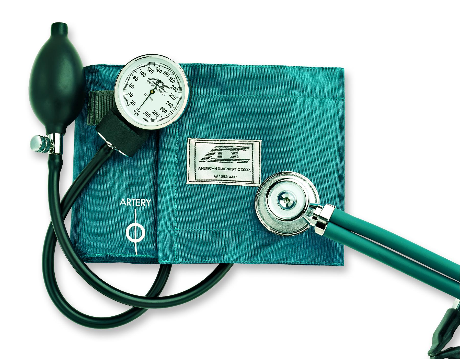 Pro's Combo II Kit Cuff and Stethoscope, Teal ADC768641TL