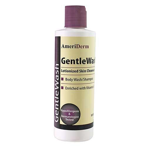 Ameriderm GentleWash™ Body Wash/Shampoo, Hypoallergenic, 8 oz ADM220