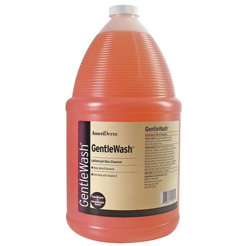 Ameriderm GentleWash™ Body Wash/Shampoo 1 gal, Hypoallergenic ADM228
