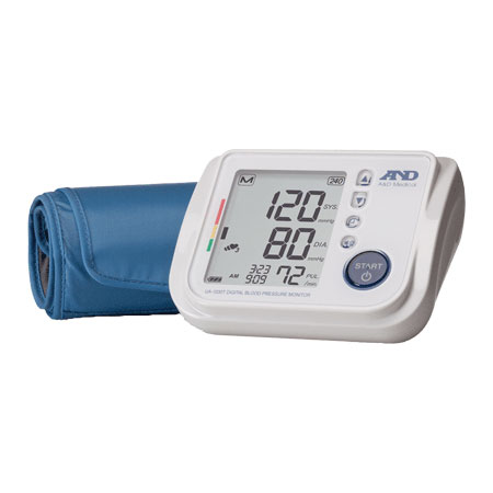 A&D Medical Talking Blood Pressure Monitor with Smoothfit Cuff AEUA1030T
