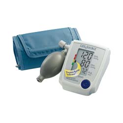 Upper Arm Blood Pressure Monitor with Medium Cuff AEUA705V