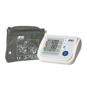 A&D Medical Upper Arm Automatic Blood Pressure Monitor with AccuFit™ Plus Cuff AEUA767F