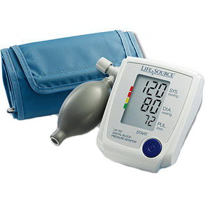 One-step Plus Memory Blood Pressure Monitor with Small Cuff AEUA767PSAC