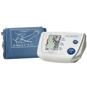 One-step Plus Memory Blood Pressure Monitor with Small Cuff AEUA767PVS