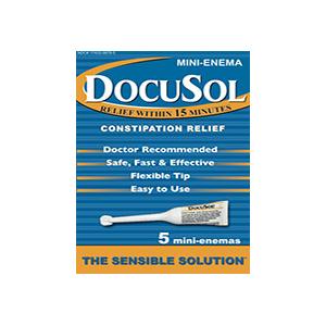 Alliance Labs DocuSol® Constipation Relief Mini Enemas 5 Count AG17433987805