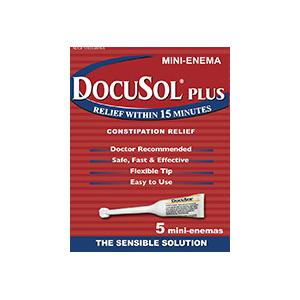 Alliance Labs DocuSol® Plus Constipation Relief Mini Enemas 5 Count AG17433988305