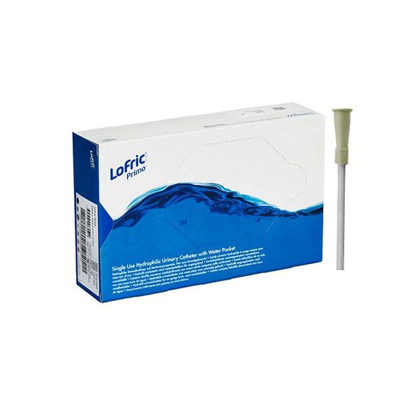 Wellspect LoFric® Primo™ Coude Hydrophilic Intermittent Catheter, 12Fr, 16''  AH4151240