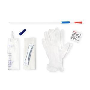 "SimPro Set Tiemann Coude Closed System Intermittent Catheter, 14 Fr, 16"" AH5351400"