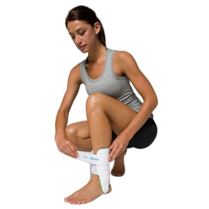 "DJO LLC Air-Stirrup® Ankle Brace Right 9"" L Medium, Semi-rigid, Enhance Circulation and Reduce Swelling AI02BR"