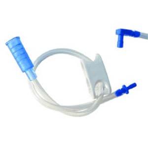 "Applied Medical Technology Bolus Feeding Extension Set with Straight Port 18Fr, 12"" L AK41801"