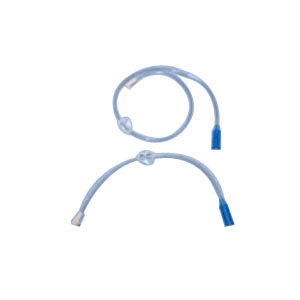 """Feeding Extension Set 12"""" with Right Angle Connector, Straight Port AK61221"""
