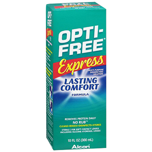Opti-Free Express No-Rub Cleansing Contact Solution, 10 oz. ALC14450