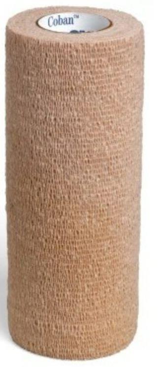 "CoFlex NL Latex Free Cohesive Bandage with EasyTear technology, 6"" x 5 yds., Tan ANC5600TN016"